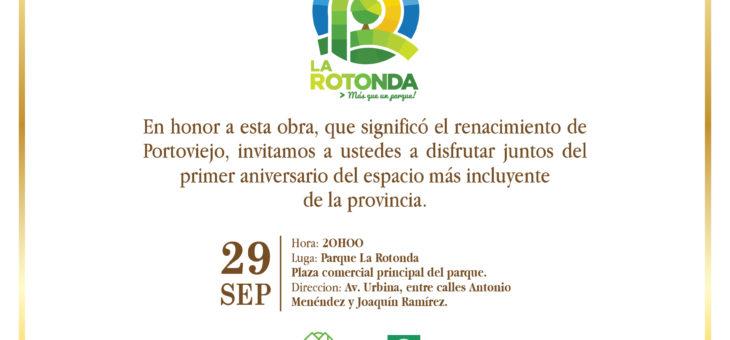 ¡Todos están invitados! La Rotonda cumple su primer aniversario y quiere compartirlo contigo.  #LaRotonda #PrimerAniversario
